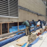 spandrel beam rehabilitation and waterproofing