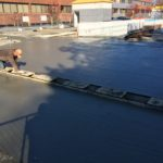 expansion joint & concrete install