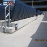 stadium and expansion joint condition